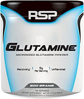 RSP Nutrition Glutamine, 100 Servings, 17.6 Ounce