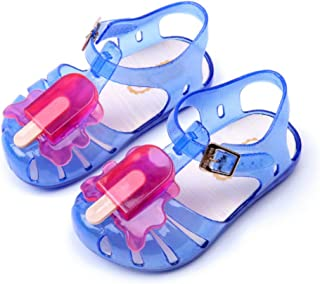 Baby Summer Popsicles Mini Sed Ice Cream Jelly Sandals Pvc Children's Shoes