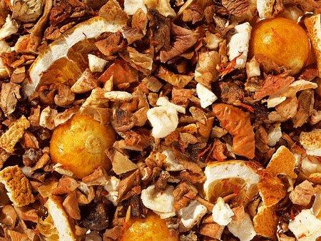 aromatisierter Früchtetee - SONNIGES GEMÜT - Physalis/Orangen-Note - säurearm! - 1kg - Tee