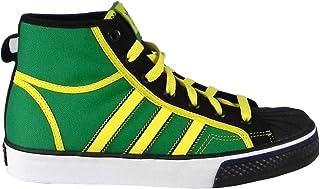 adidas Originals Big Kid Nizza Shell Hi J Fashion Sneaker