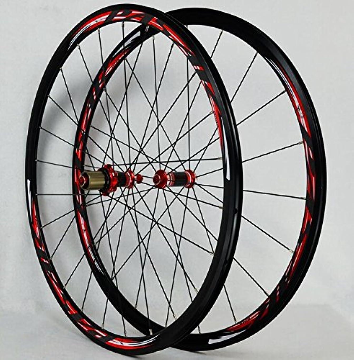 背景周り懐疑論700Cロードバイク自転車カーボンシールベアリングホイールストレートプルV / Cブレーキ30MM合金リムホイール