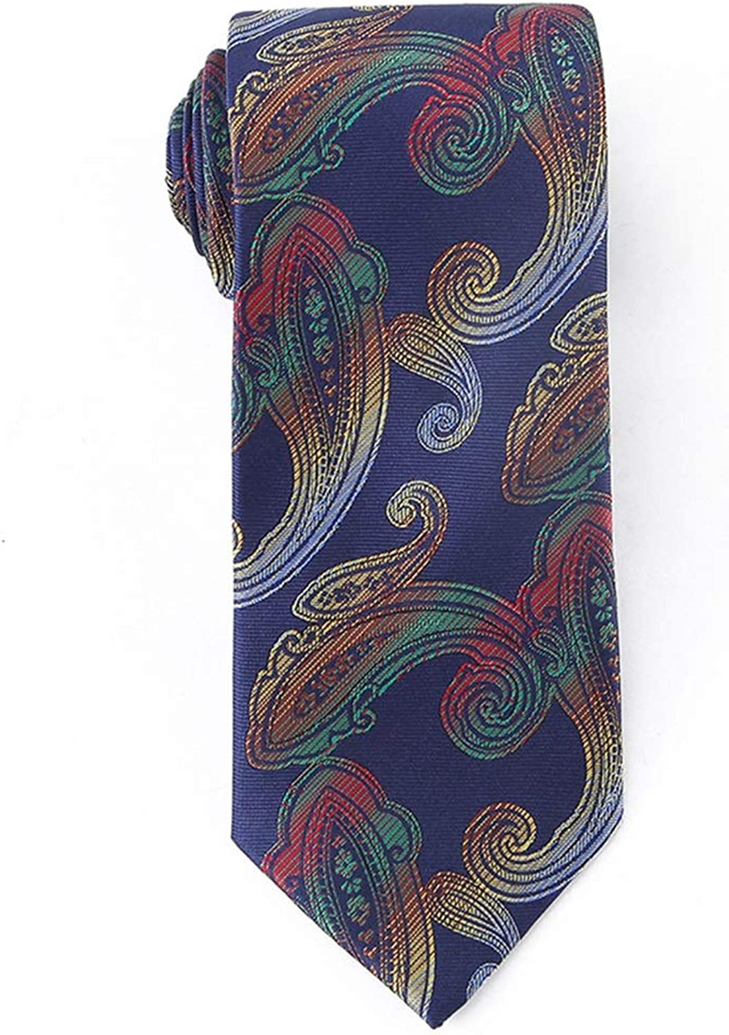 Polyester Textile Men's Neckties Flowers Great Gradient Pattern for Weddings Missions Dances Groom Groomsmen Gifts 7.5cm Wide (color   blueee)