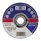 SBS Cuchilla de sierra de diamante, 125x1,0mm, Pack de 50