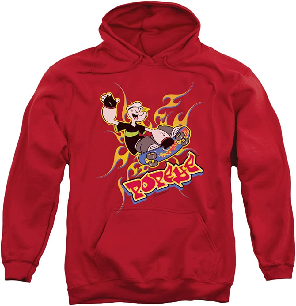 Trevco Popeye Get Air Unisex ついに再販開始 Adult レビューを書けば送料当店負担 for Pull-Over Men and Hoodie