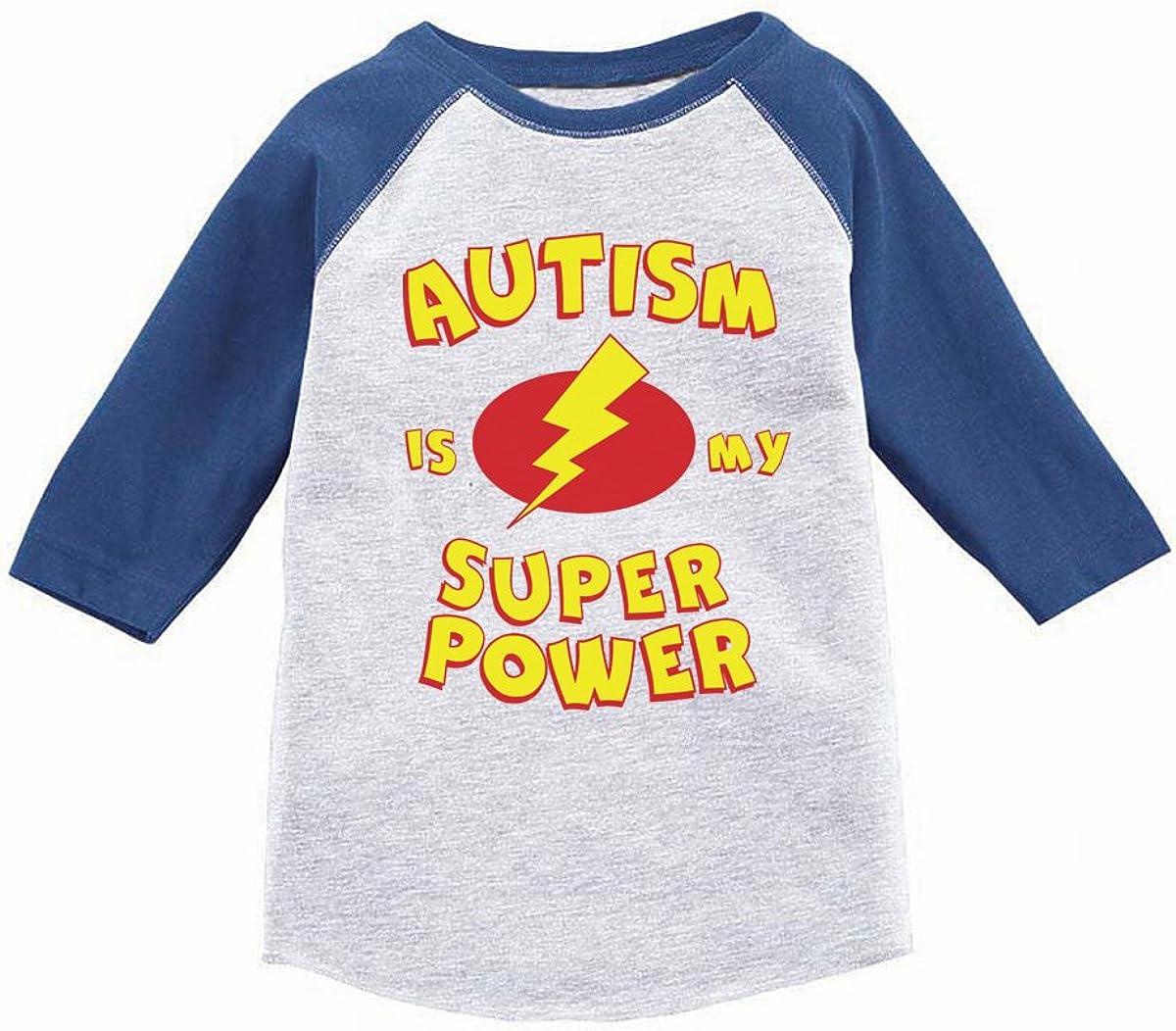 Awkward Styles Toddler Autism is My Super Power Shirt Girls Boys Autism Shirt
