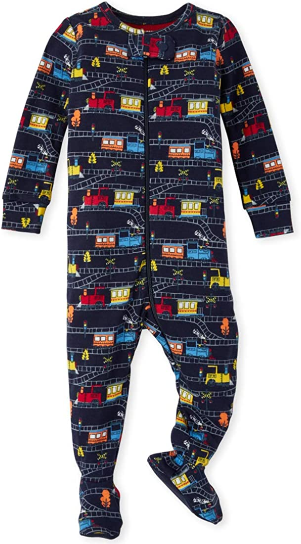 The Children's Place Baby Boys Long Sleeve Stretchie