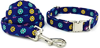 Dog Collar and Perro Leash Set with Bow Tie Pet Products Puppy Designer Dog Cat Necklace Head Collar