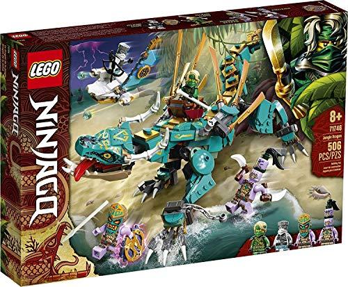 Lego Ninjago 71746 – Island Lloyd's Jungle dragón (506 piezas), edición limitada.
