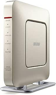 BUFFALO WiFi 無線LAN ルーター WSR-2533DHP/M-CG 11ac 1733+800Mbps 4LDK 3階建向け 【iPhoneX/iPhoneXSシリーズ/Echo メーカー動作確認済み】