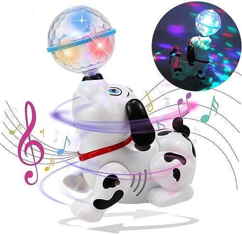 Ramakada Dancing Dog Toy With Music Flashing Lights