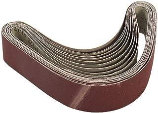 pour ponceuse /à bande//courroies abrasives grains 800 5PCS Bandes abrasives 50x686 mm