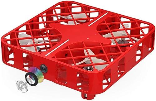 Entrega rápida y envío gratis en todos los pedidos. ASQXYFCT Caja Cuadrícula Mini Mini Mini Quadcopter Mini Bolsillo Remoto Drone RC Avión Caída,rojo,WRJ  100% autentico