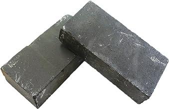 耐火レンガ 黒 グレー レンガ 200×100×40mm 14枚セット