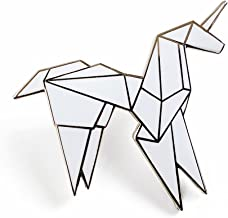 Pinsanity Origami Unicorn Enamel Lapel Pin