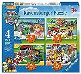 Ravensburger 4 Puzles Patrulla Canina en una Caja (12, 16, 20, 24 Piezas)
