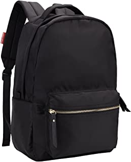 HawLander Nylon Backpack for Women - Lightweight,Small Size,Black