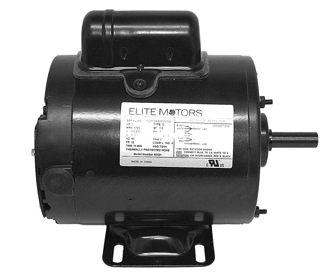 Elite 1 HP Painted 56 Frame Boat Lift Motor
