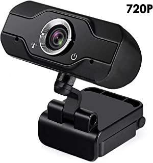 DEALPEAK 1080P/720P HD Web Camera Built-in Microphone Laptop Computer USB Webcam for Teleconferencing Live Streaming Distance Teaching
