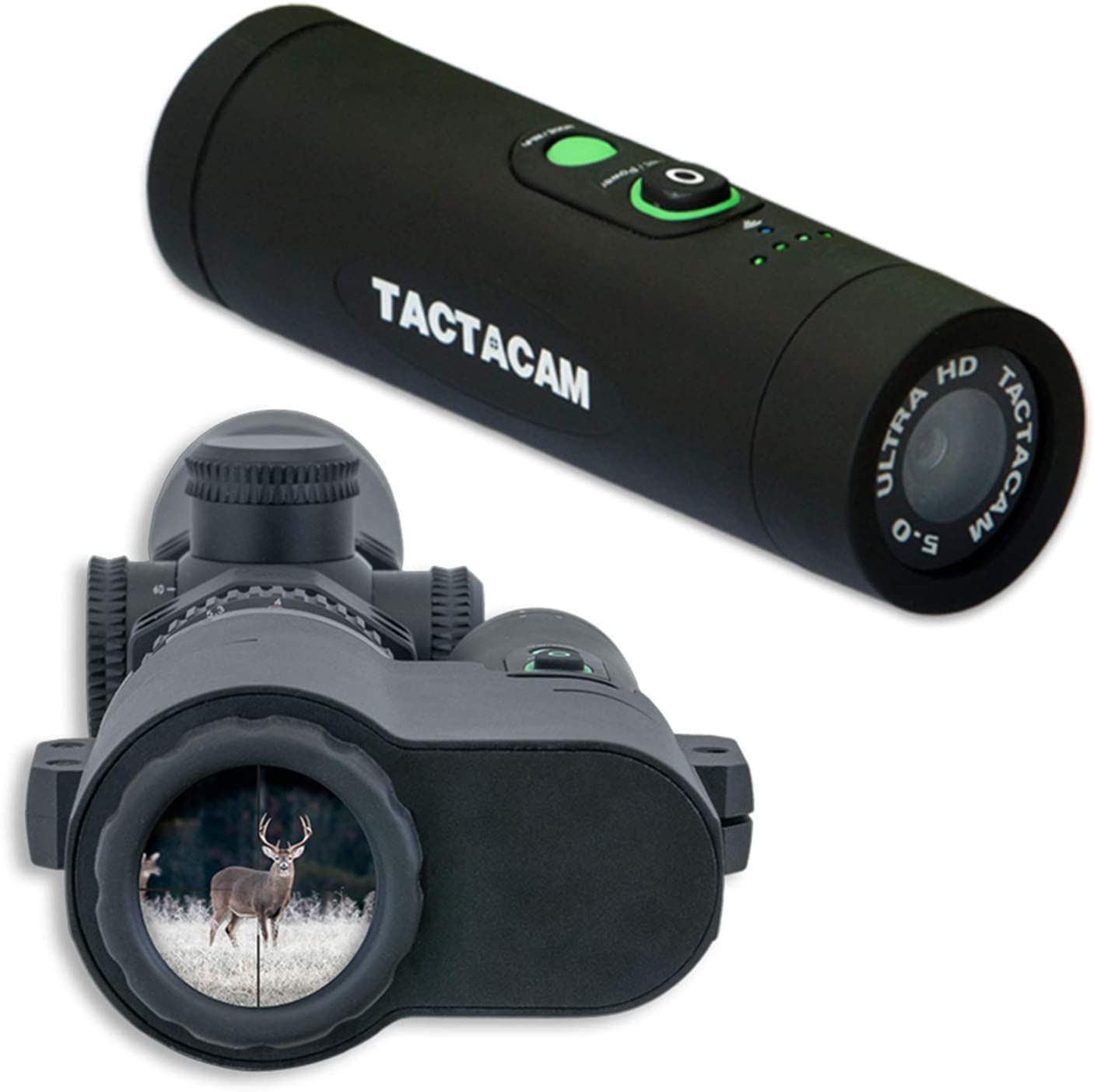 TACTACAM 2021 model 5.0 Hunting Max 52% OFF Action Camera Long Package Includ Range -