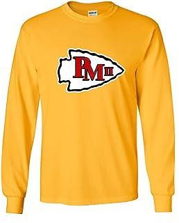 Long Sleeve Gold Kansas City Mahomes III Logo T-Shirt