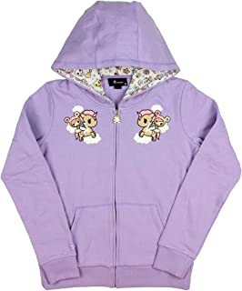 Tokidoki Women's Donutella and Dolce Unicorno Souvenir Zip Hoodie