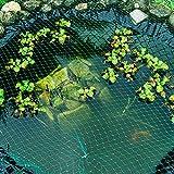Tech-Garden - 6 m x 3 m Teichabdecknetz stark durchscheinend grün Garten Fischteichnetz...
