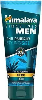 Himalaya Men Anti Dandruff Strong Styling Gel, Strong Hold, 100ml
