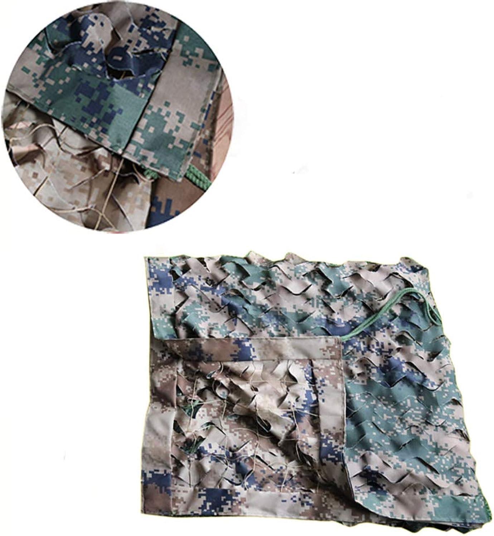Camouflage net LZPQ Tarnnetz MilitRisches Sonnenschutznetz 400d   100% Super Starkes Oxford-Tuch Verdickung Der VerschlüSselung Trainings-Tarnnetz MilitR Spezialeinheit
