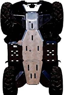 Ricochet 3-Piece Full Frame Skid Plates, Yamaha Grizzly 550 & Grizzly 700