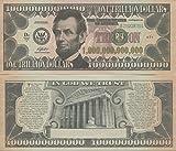One Trillion Dollars 1,000,000,000,000 Novelty Christian Bill Note
