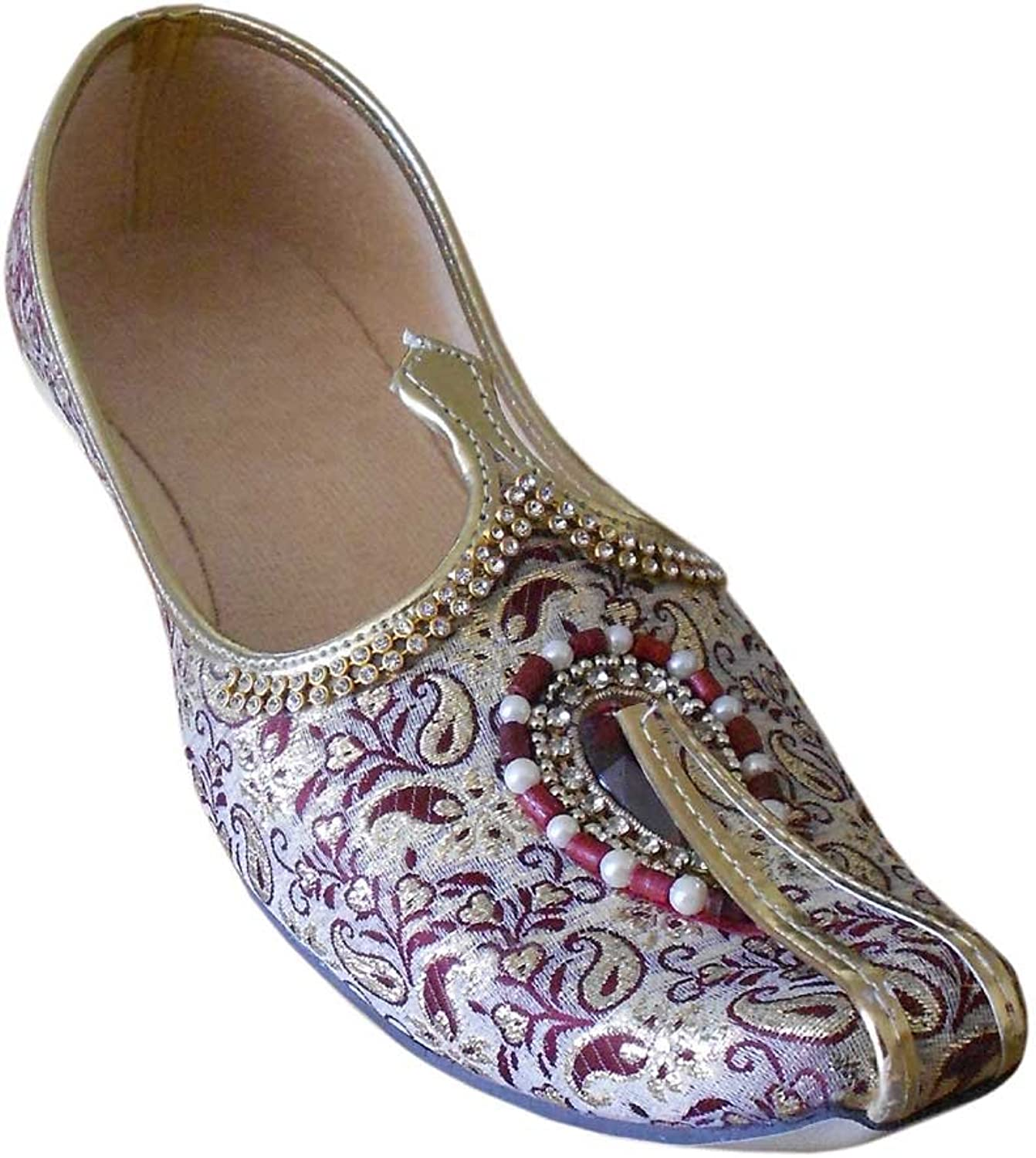 Kalra Creations Men's Traditional Indian Jutti Loafer Mojari Flats