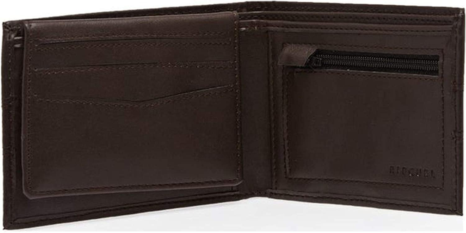 Rip Curl Word Boss PU All day Wallet One Size Brown: Clothing