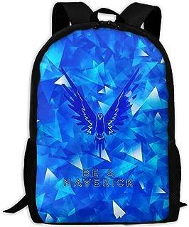 MKKR2 Blue Logan-paul-Maverick 3D Adult Outdoor Leisure Sports Backpack And School Backpack