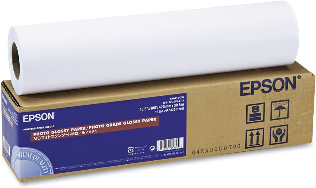 Epson Premium Large discharge sale Luster Paper Roll Photo Direct store