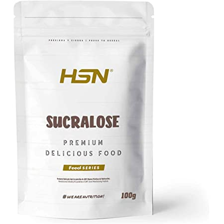 HSN Sucralosa Edulcorante Sin Calorías | Endulzante para Recetas Fitness | Alternativa al azúcar de Mesa | Vegano, Sin Gluten, Sin Lactosa, En Polvo, ...