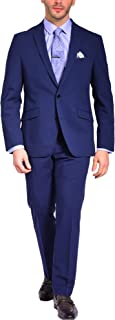 Craft & Soul Men's Slim Modern Fit Stretch Tech Suit Separate Jacket Blazer Coat