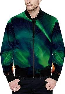 Hitecera Abstract Funny Bomber Jacket for Men XS