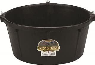 LITTLE GIANT HP750 Feeder Tub, 6.5 Gallon, Black