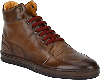 Del Mondo TAN Colored Boot Men's Shoes