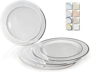 majestic plastic plates