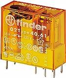 Finder Serie 40 - Rele Mini 5mm 1na 16a 230vac agsno2