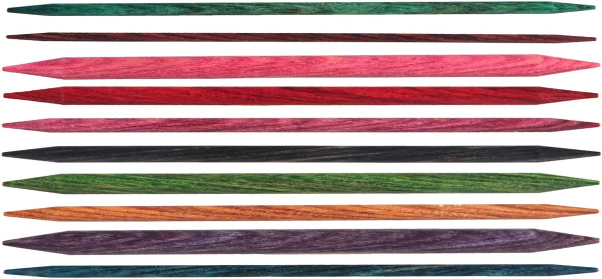15cm 200132 by Knitters Pride Knitting Needles; Size US 10 Knitters Pride Dreamz Double Pointed 6-inch 6.0mm