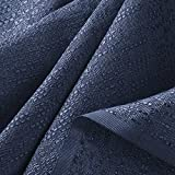 Inherently Fire Retardant Banjo Cloth Display Fabric | 47 Inches Wide -by The Yard (Navy)