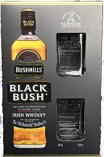 Bushmills Black Bush 70cl With Two Glasses Gift Set