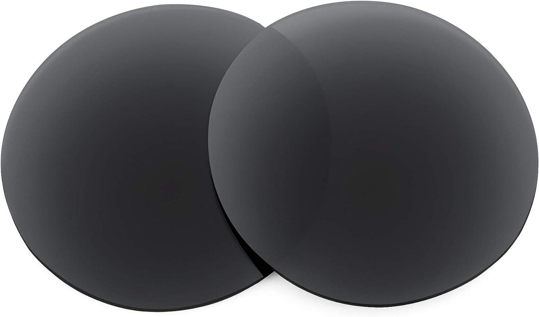 Revant Verres de Rechange pour Ray-Ban Round Double Bridge RB3647N 51mm - Compatibles avec les Lunettes de Soleil Ray-Ban Round Double Bridge RB3647N 51mm Noir Furtif - Polarisés