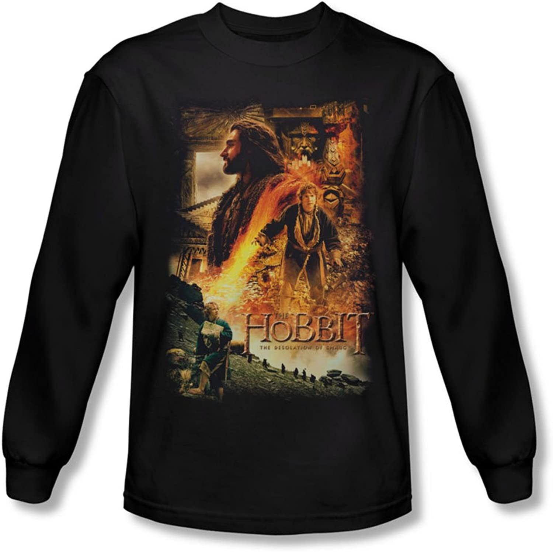 The Hobbit  golden Chambers Long Sleeve TShirt  Large