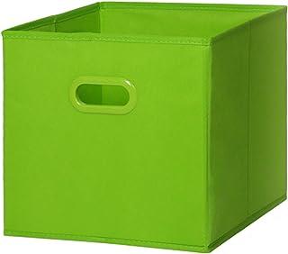 Pas-pliable Tissé Boîtes De Rangement,Économie D'espace De Couleur Solide Paniers De Rangement,Portable Stackable Caisses ...