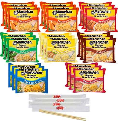 Maruchan Oriental Flavor Ramen Noodles 24-Pack Only $3.67