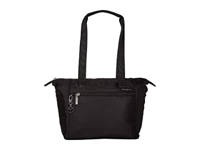 Hedgren Megan RFID Medium Tote (Black) Tote Handbags