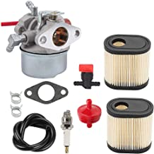 Hayskill 640350 Carburetor Carb for Tecumseh 640173 640174 640262 640303 640271 640124 640156 640168 LEV110 LEV115 LEV120 Toro 20016 20017 20018 Walk Behind Lawn Mower Engine